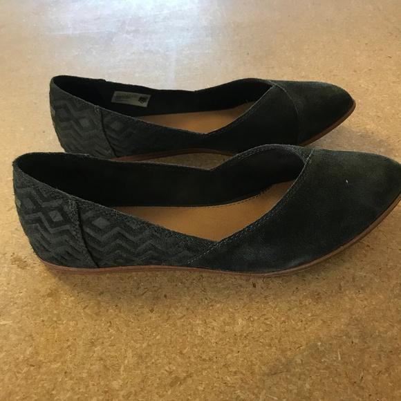 36aad8910 TOMS Shoes | Jutti Flat Shoe Forest Size 10 | Poshmark